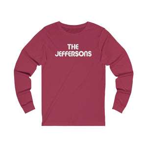 """The Jeffersons - Vintage""  Long Sleeve Tee"