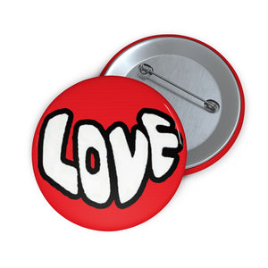 """Love"" Custom Pin Buttons"