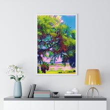 "Load image into Gallery viewer, ""Beaufort By the Sea"" Custom Graphic Framed Vertical Poster"