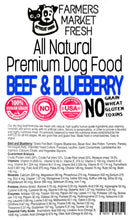 Load image into Gallery viewer, Farmers Market Fresh All-Natural Premium Dry Dog Food (Single Serving)