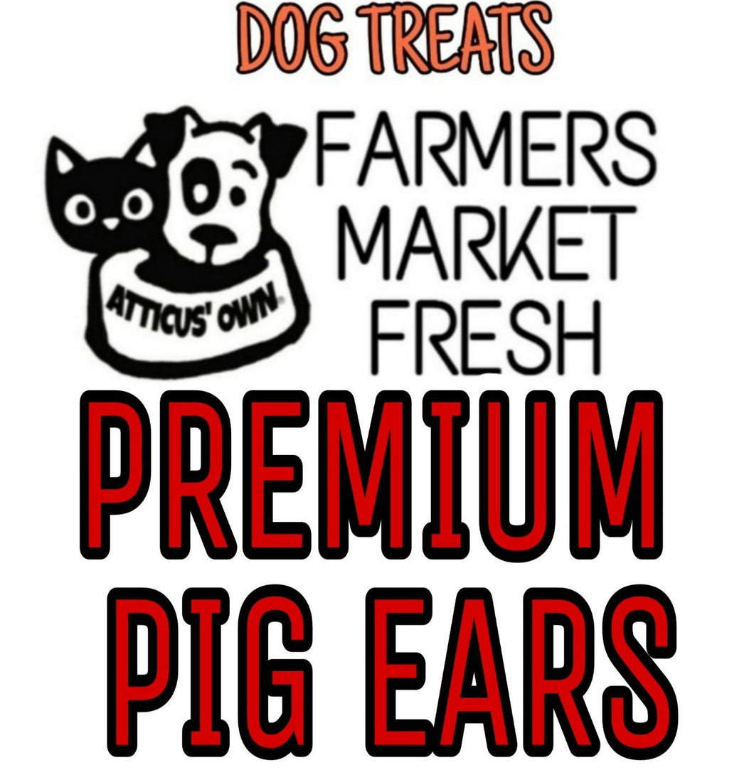 Farmers Market Fresh Premium Pig Ears (3 Pack)