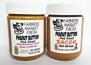 Farmers Market Fresh Peanut Butter for Dogs  (12OZ)