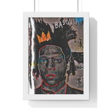 "Load image into Gallery viewer, ""Ode To Basquiat"" Premium Framed Vertical Poster"