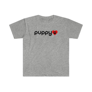 """Puppy Love"" Unisex Softstyle T-Shirt"