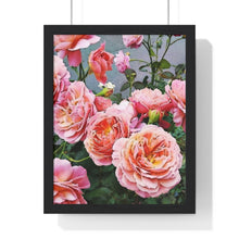 "Load image into Gallery viewer, ""In Bloom"" Print Premium Framed Vertical Poster"