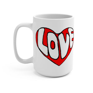 """It's All About Love"" Mug 15oz"