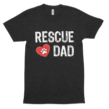 Load image into Gallery viewer, Rescue Dad Tri-Blend T-Shirt