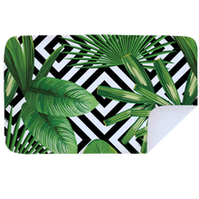 Load image into Gallery viewer, Banana Leaves - Microfibre Printed Towel