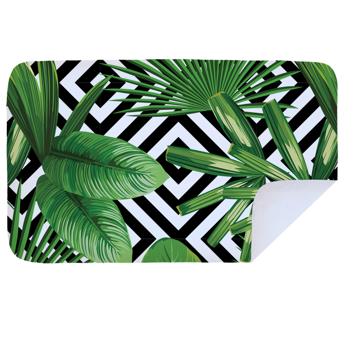 Banana Leaves - Microfibre Printed Towel