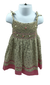 Deauville Smocked Dress
