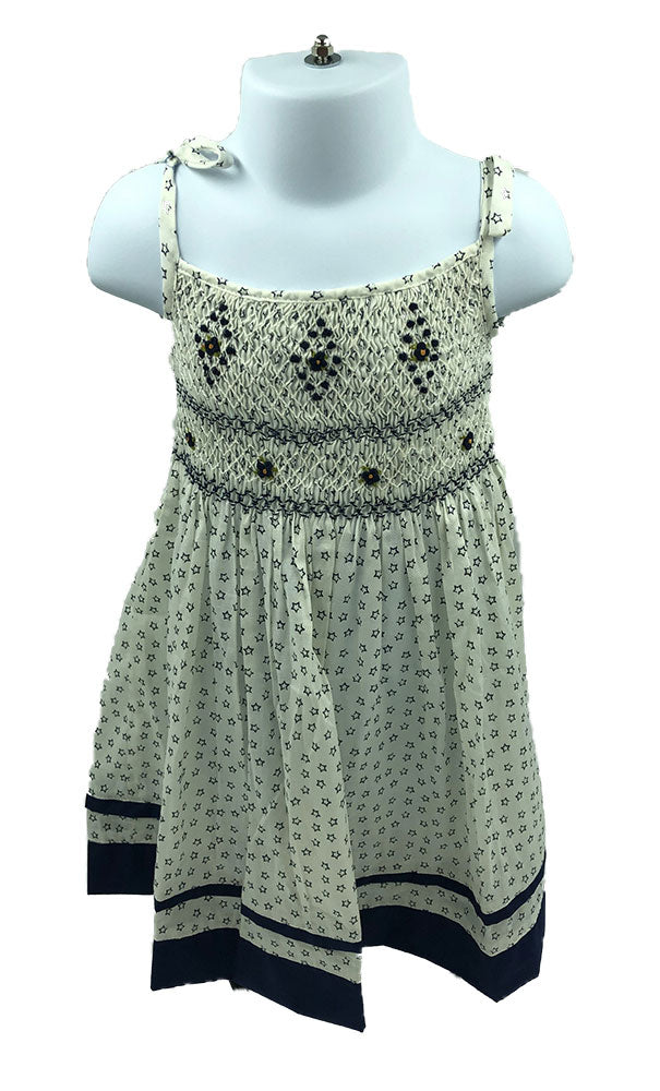 Evreux Smocked Dress
