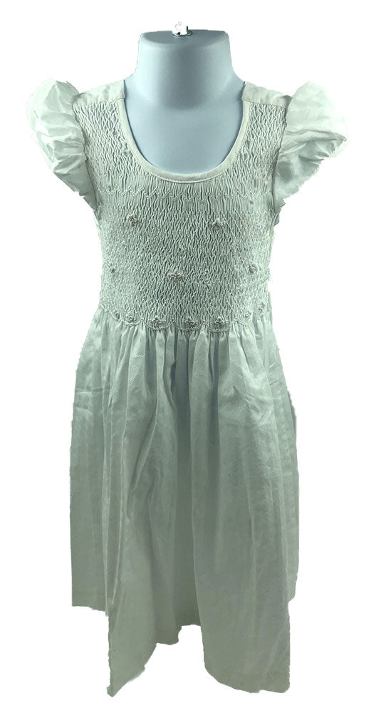 Oradour-sur-Glane Smocked Dress