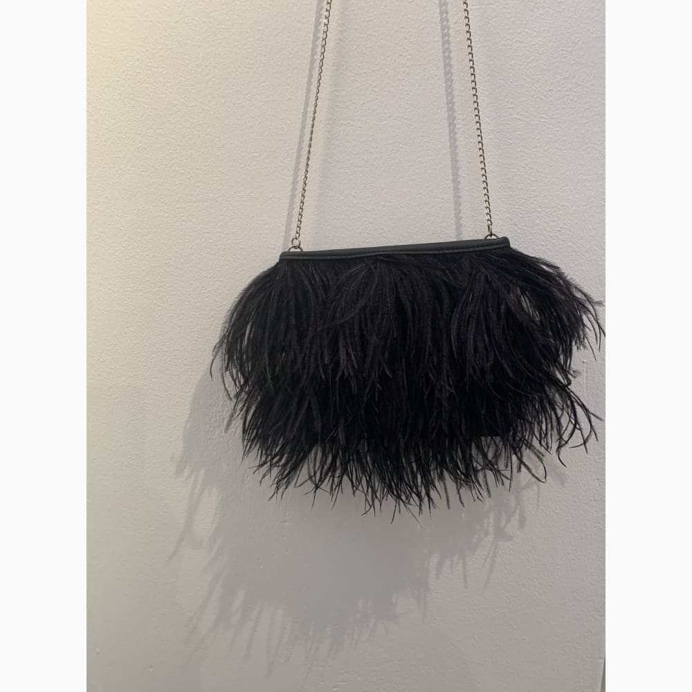 Feather sling bag
