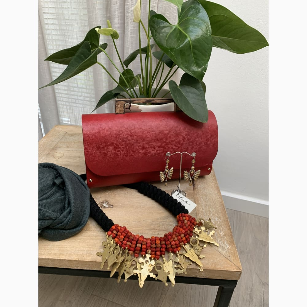 Sisipho Clutch - Red - Clutch