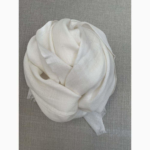 White XL - Scarf