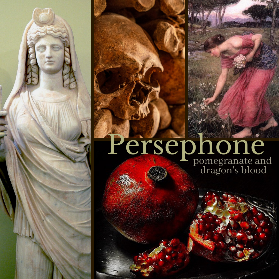 Mood Board: Persephone