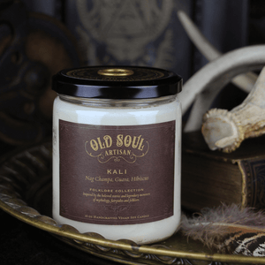 16 oz Soy Candle - Kali (nag champa, guava, hibiscus)
