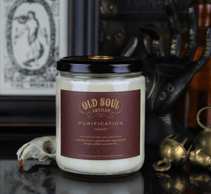 16 oz Soy Candle - Purification (lavender)