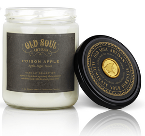 16 oz Soy Candle - Poison Apple (apple, sugar, poison)