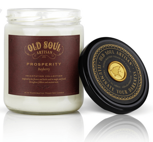 16 oz Soy Candle - Prosperity (bayberry)