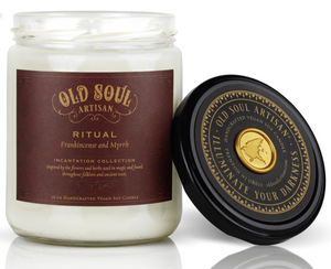 16 oz Soy Candle - Ritual (frankincense and myrrh)
