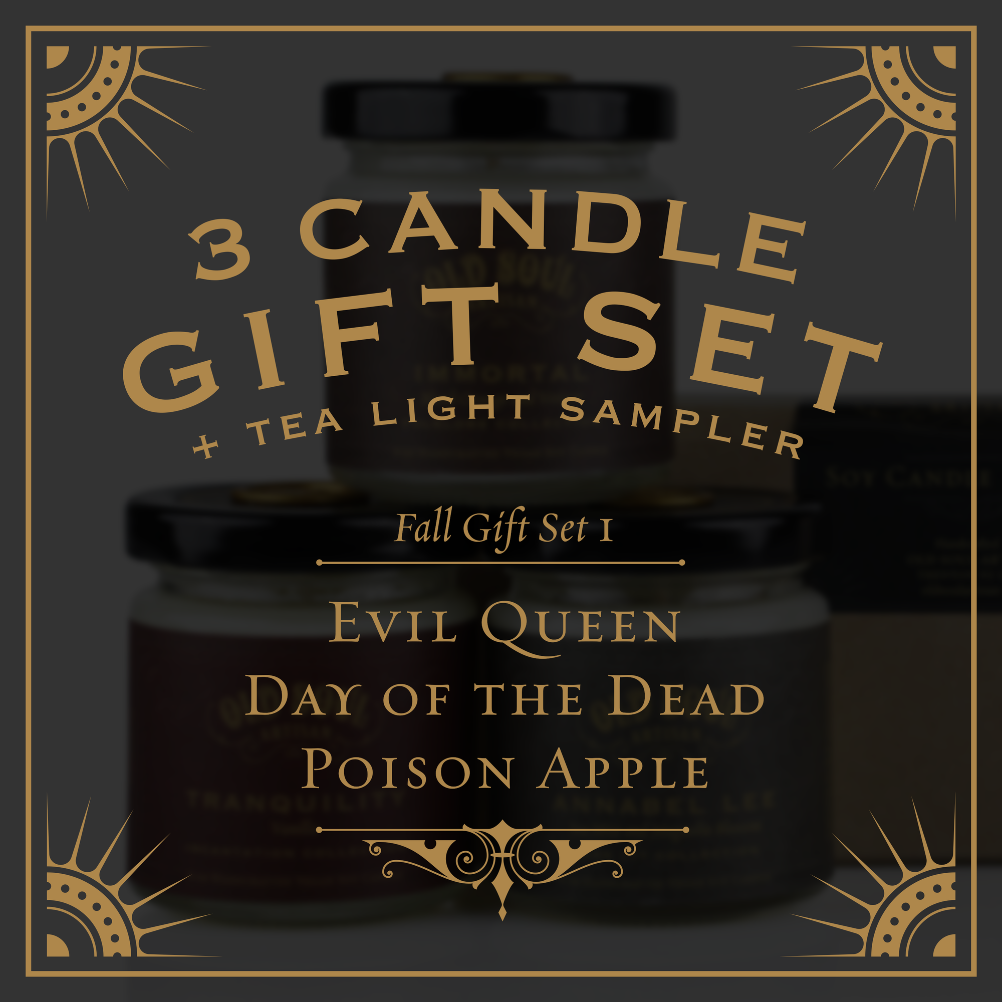 Fall Gift Set I - Evil Queen, Day of the Dead, Poison Apple