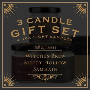 Fall Gift Set II - Witches Brew, Sleepy Hollow, Samhain