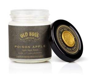 4 oz Soy Candle - Poison Apple (apple, sugar, poison)