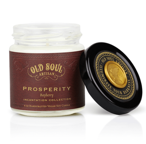4 oz Soy Candle - Prosperity (bayberry)