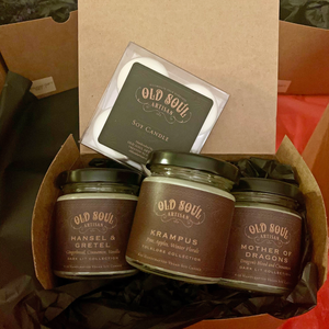 Holiday Candle Gift Set - Old Soul Artisan