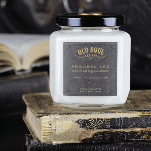 9 oz Soy Candle - Annabel Lee (sea mist and magnolia blossom)