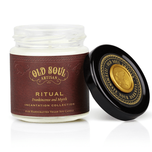 4 oz Soy Candle - Ritual (frankincense and myrrh)