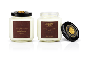 9 oz Soy Candle FRONT AND BACK - Incantation Collection