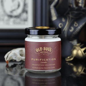 4 oz Soy Candle - Purification (lavender)