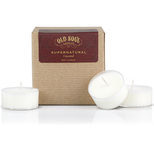 Tea lights - 16 or 100 count box - Supernatural (unscented)