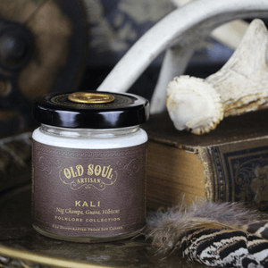 4 oz Soy Candle - Kali (nag champa, guava, hibiscus)