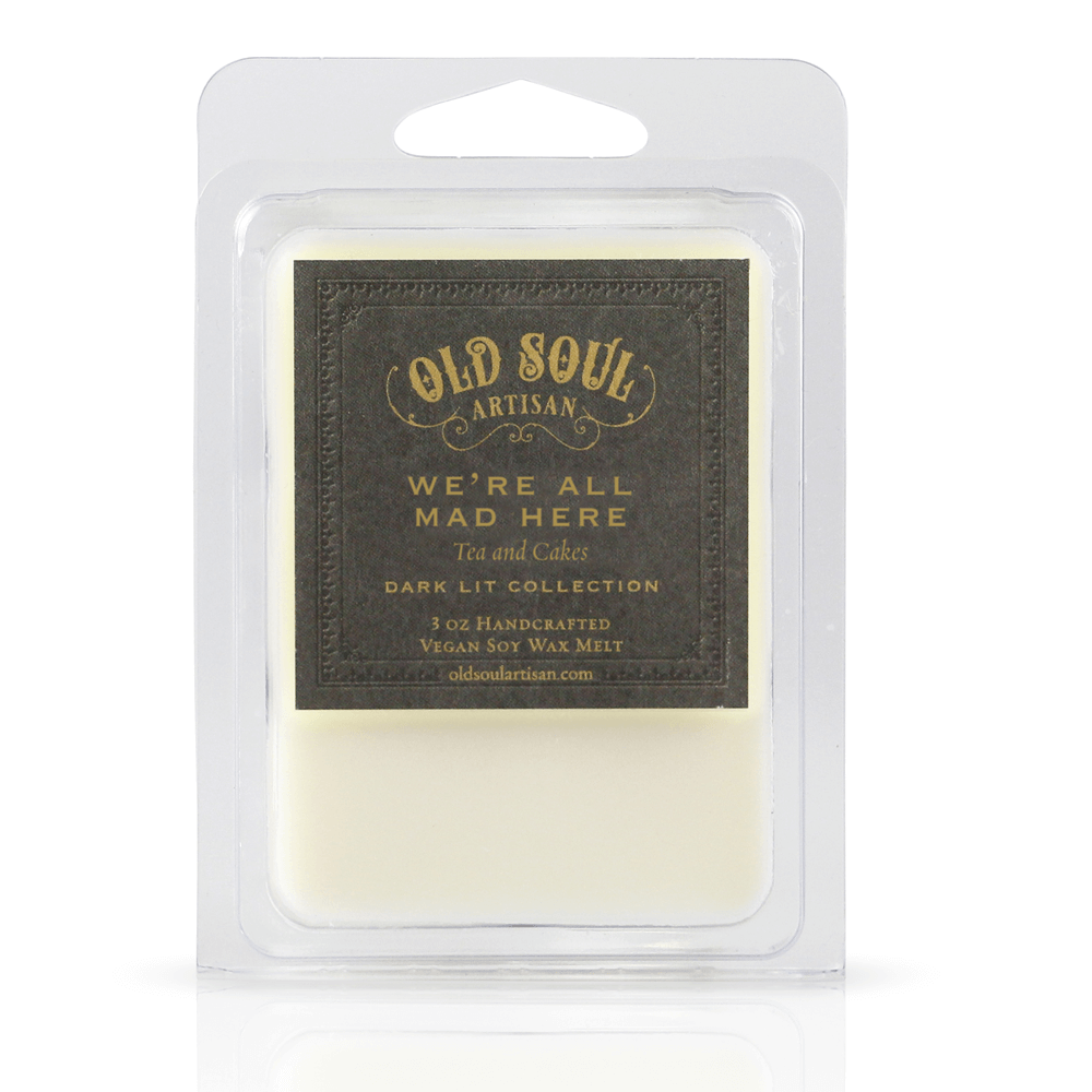 We're All Mad Here Wax Melts - Old Soul Artisan