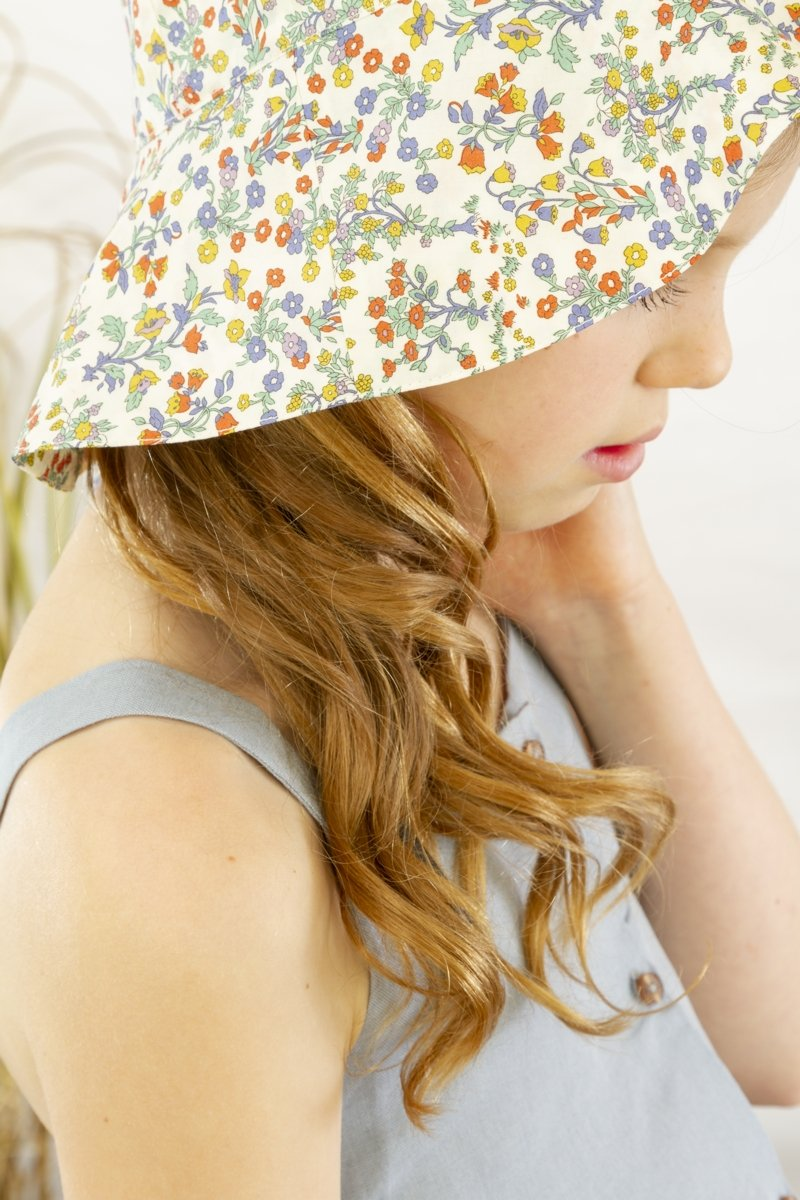 flower sun hat for children
