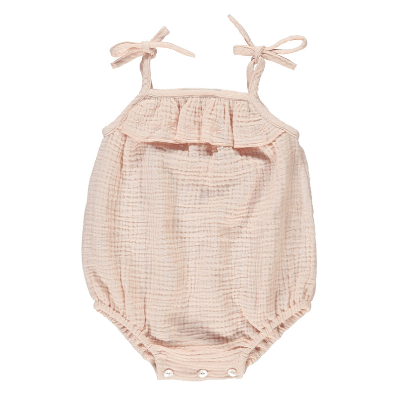 pink romper for baby