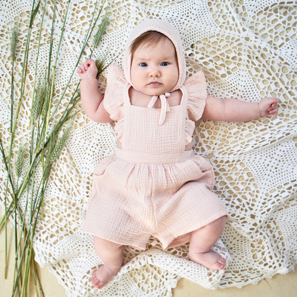 pink romper for babies