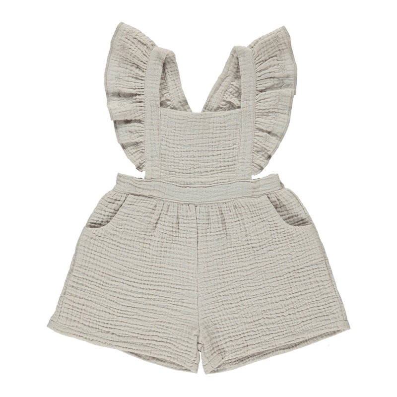 taupe romper baby