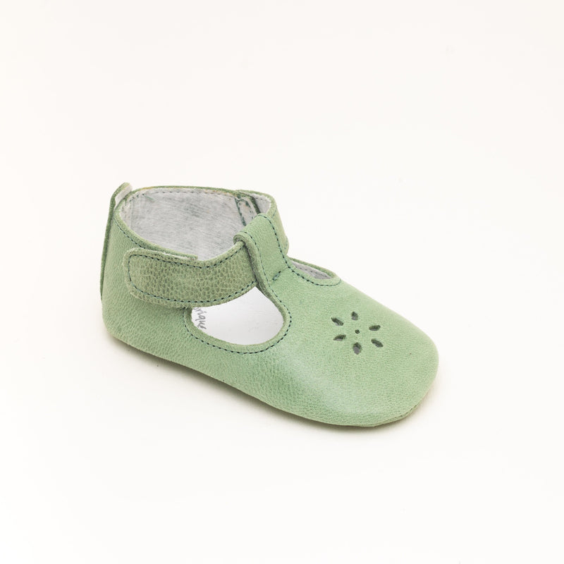 green shoes for babies