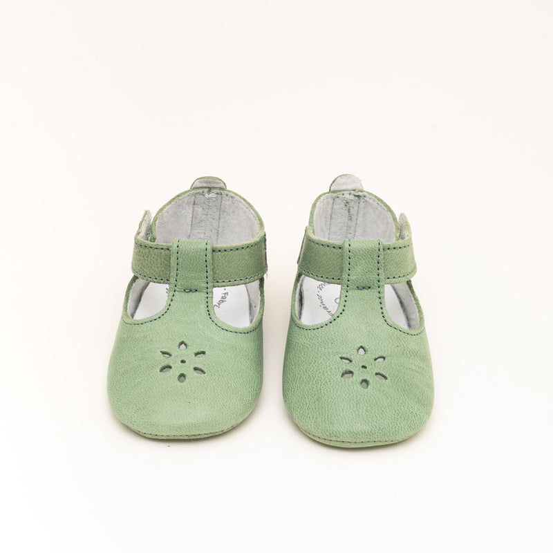 Water green Salome shoes