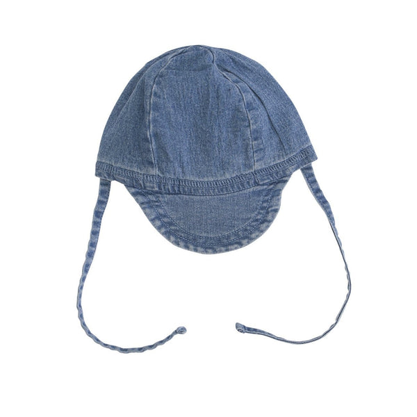 A denim cap
