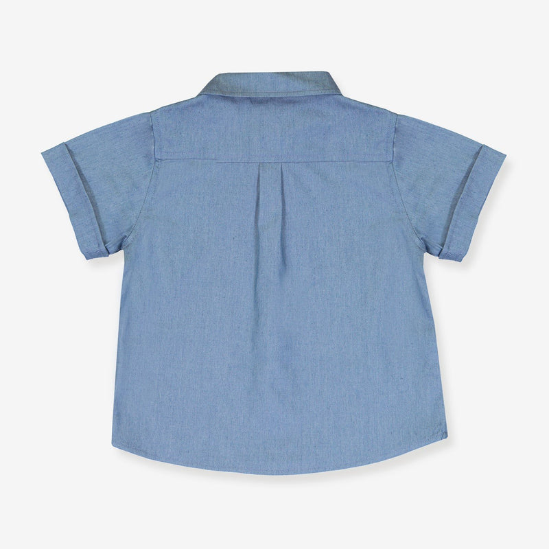 back short sleeve shirt for kid