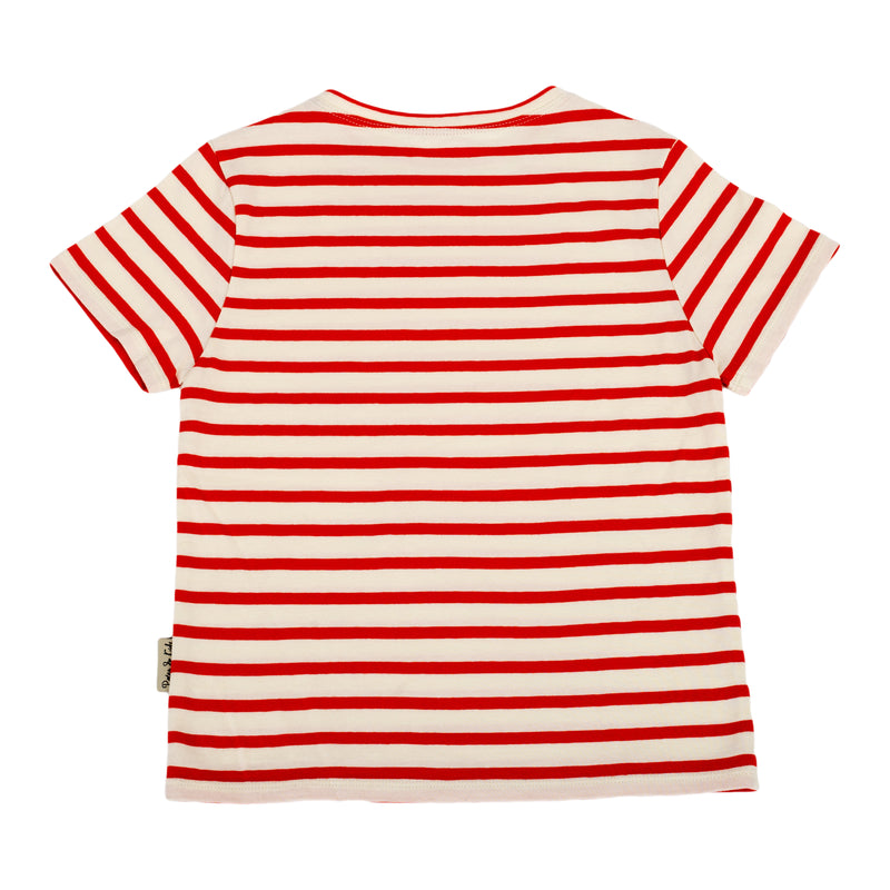 Casual stripes t-shirt