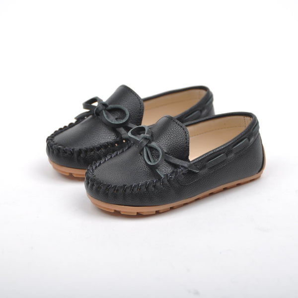 Black loafers boys