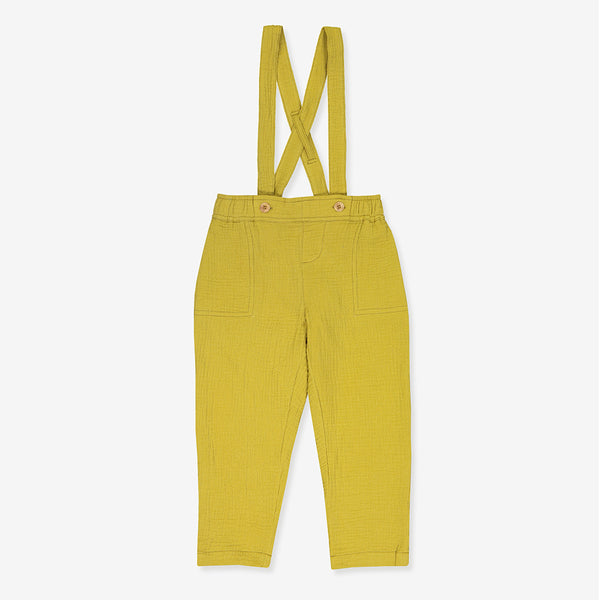 organic yellow pants