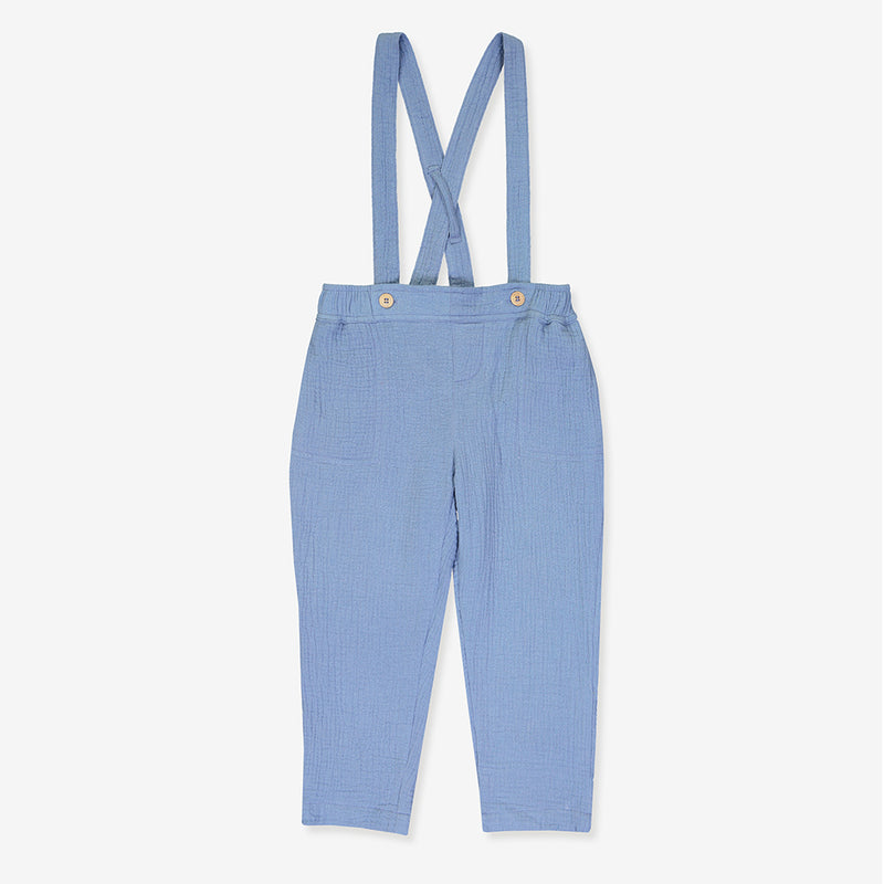 blue pants organic for kids