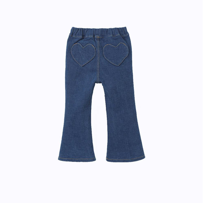 back jeans denim for little girls